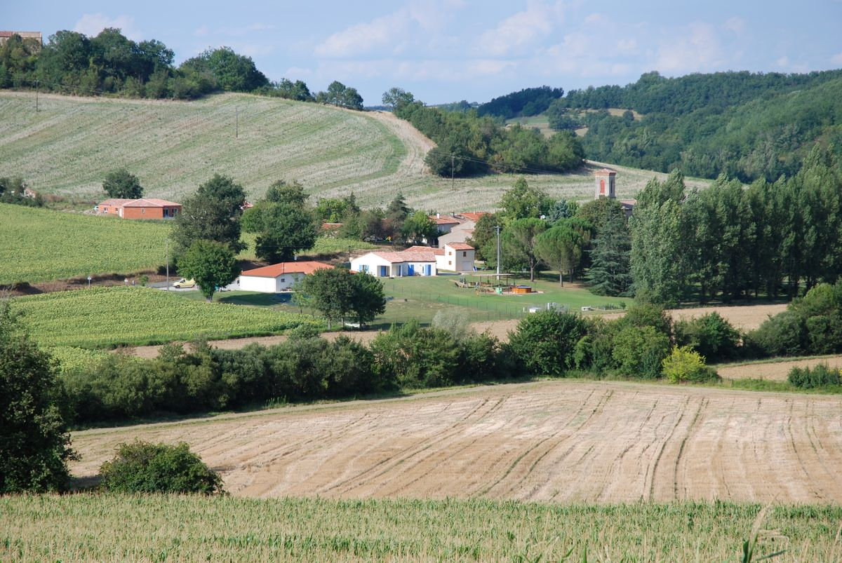 Village d'Algans-lastens