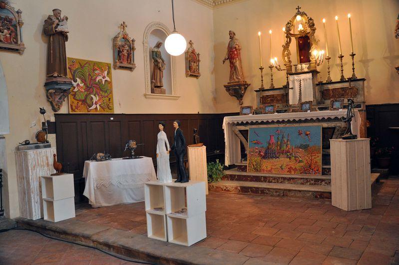 Édition 2014 - Exposition au coeur d'une église