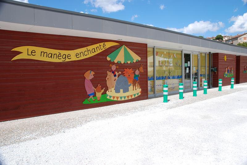 Illustration sur la façade
