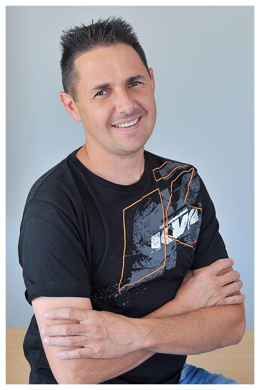 Yannick ESCOUTE, éducateur Trial et responsable de l